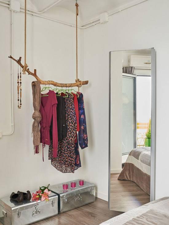 closet pequeno e barato com galho