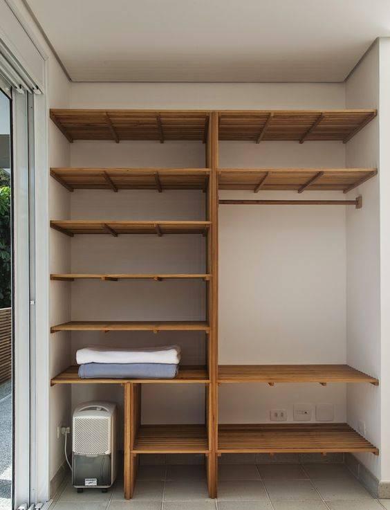closet pequeno e barato de mdf