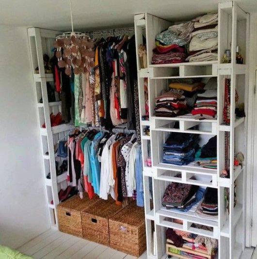 closet pequeno e barato de paletts