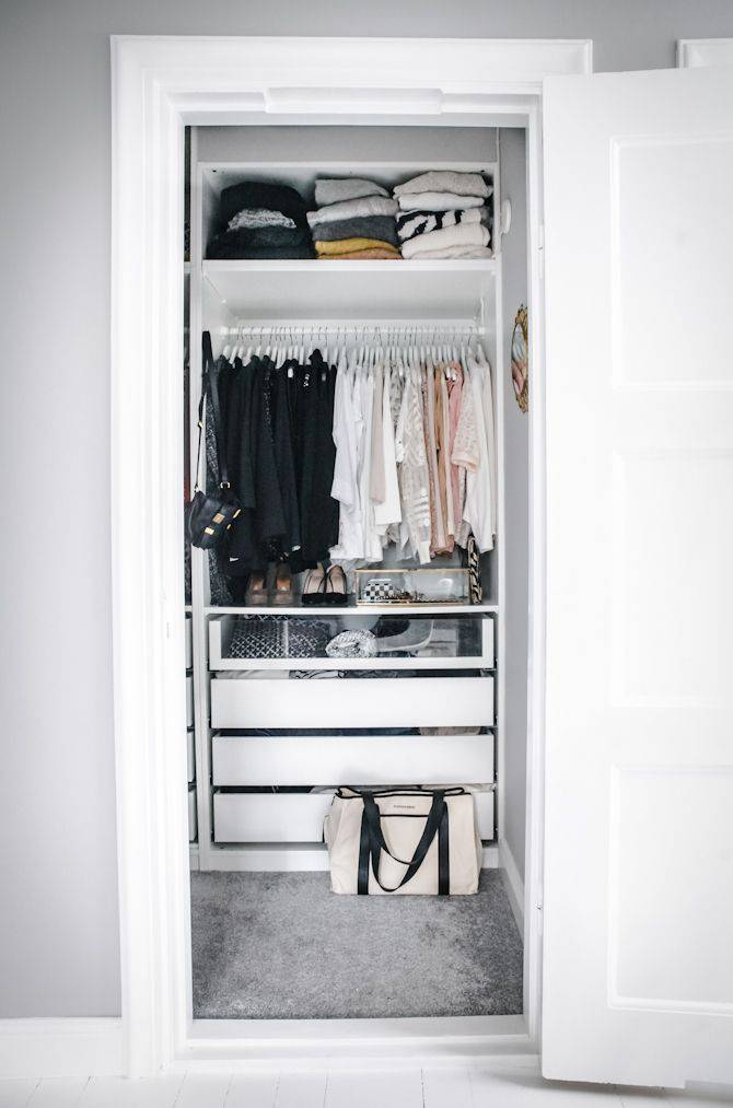 closet pequeno e barato na dispensa