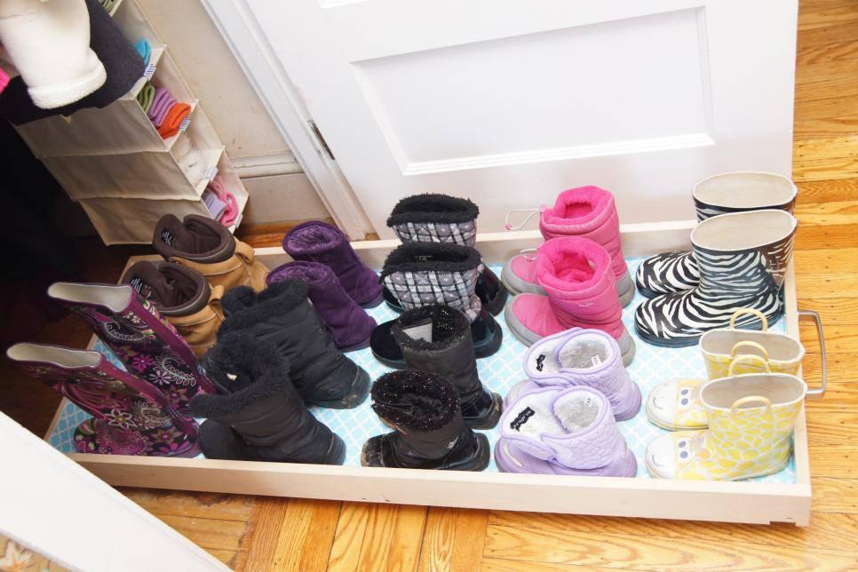 closet pequeno e barato organizador de sapato