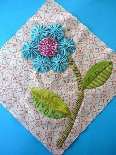 como fazer fuxico guardanapo flor