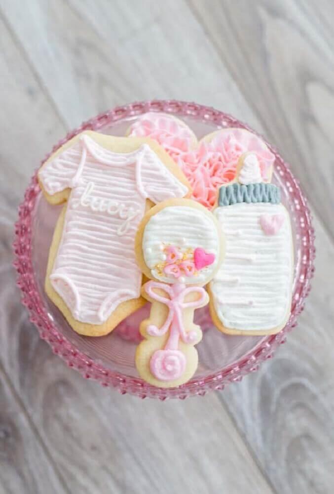docinhos decorados para chá de bebê Foto Pinterest