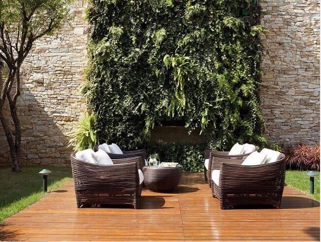jardim suspenso area externa com sofás deborah roig 78294