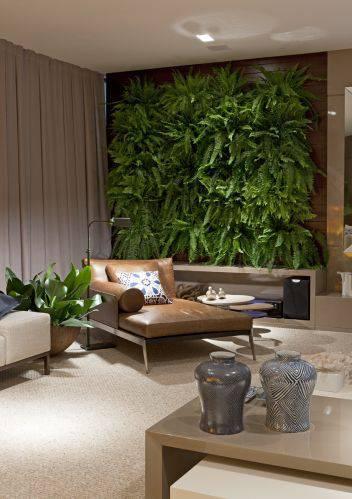 jardim suspenso sala de estar casacor mg