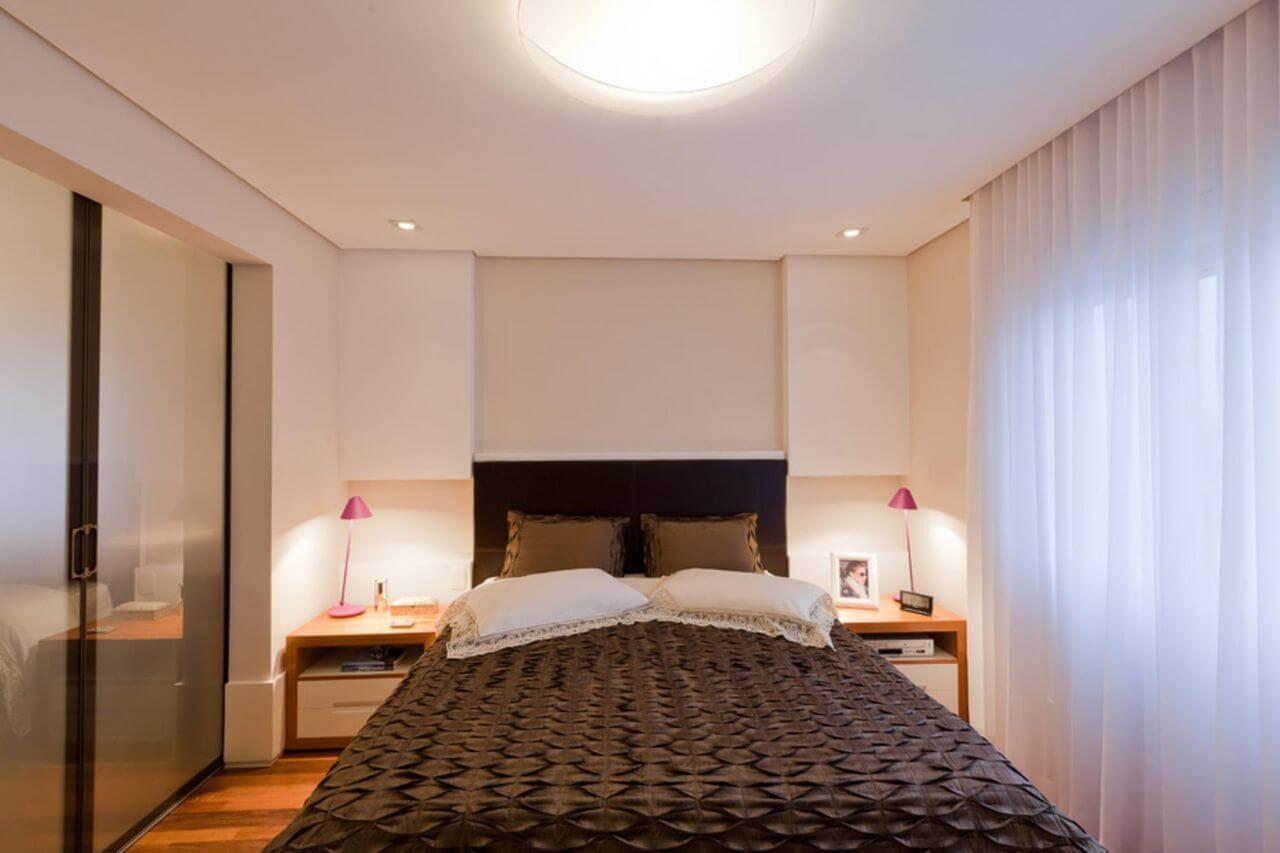 lampadas de led quarto de casal com abajur marcia varalla 23333
