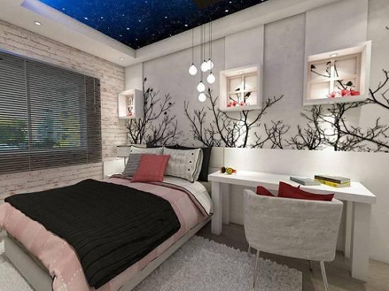 lampadas de led quarto de menina com nichos ednilson hinckel 39823