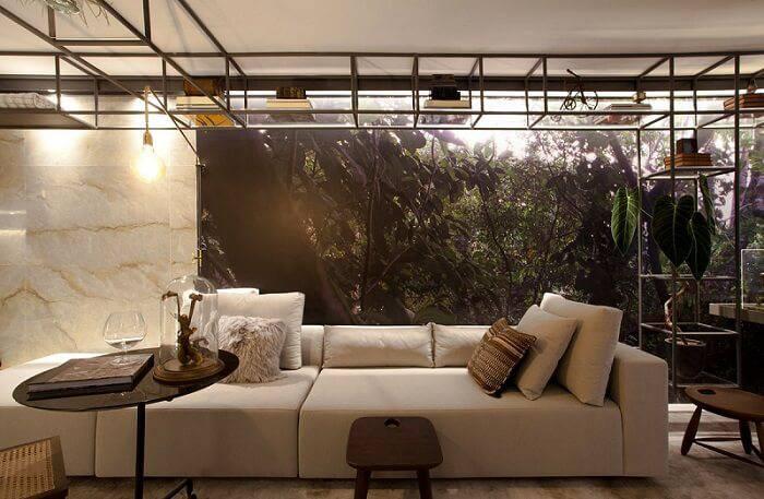 lampadas de led sala de estar com mesa sandra moura 143936