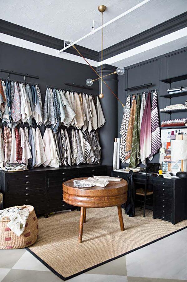 Modelos de closet pequeno em L