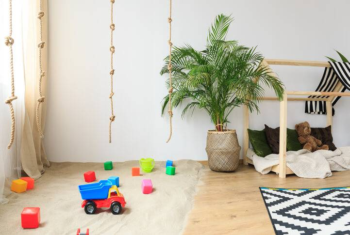 quarto hippie montessoriano infantil