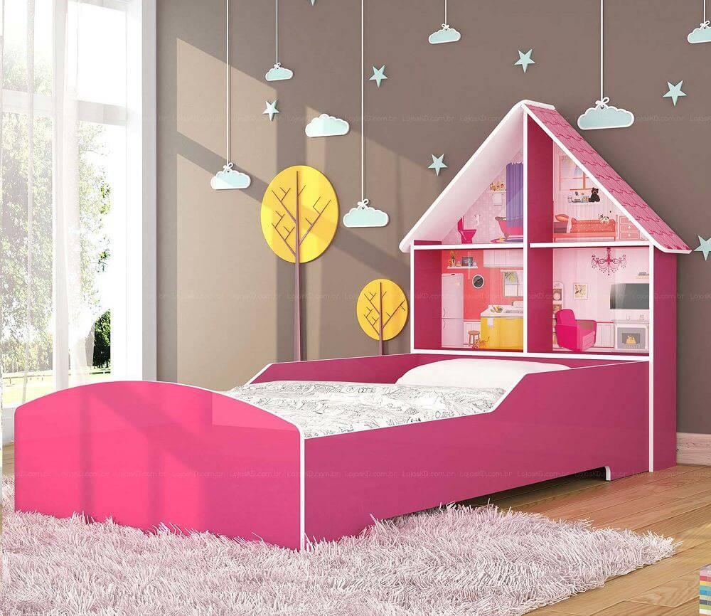 quarto infantil cama branca