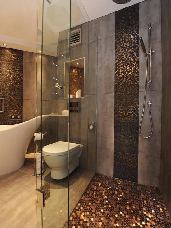 resina epoxi banheiro com moedas