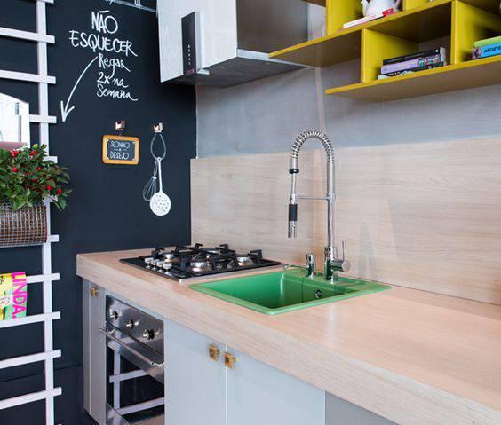 torneiras para cozinha gourmet moderna