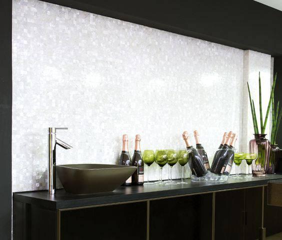 torneiras para cozinha moderna prateada