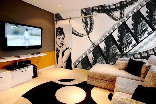 Decore com estilo o cinema em casa