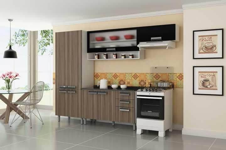 Melhores Marcas de Fogão cozinha simples madeira madeira 98725