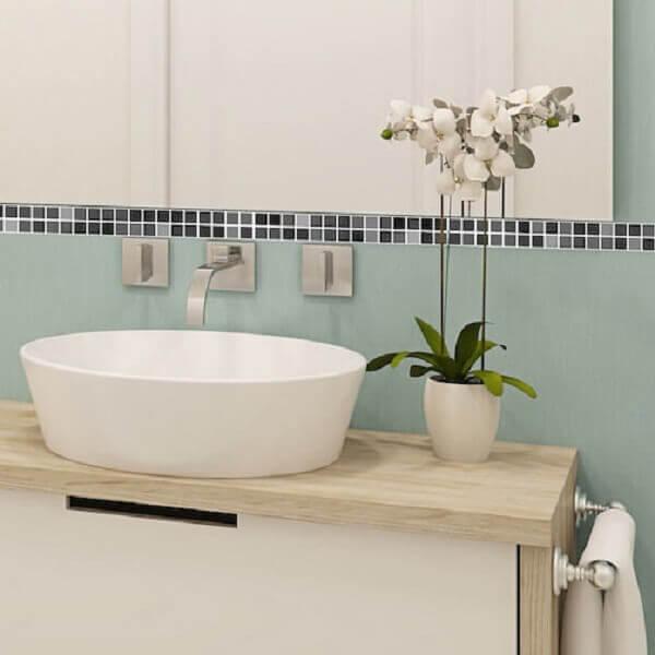 Revestimento para banheiro decoração