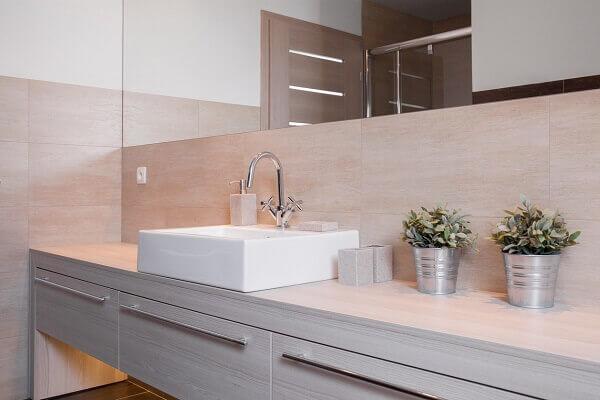 Revestimento para banheiro pequeno