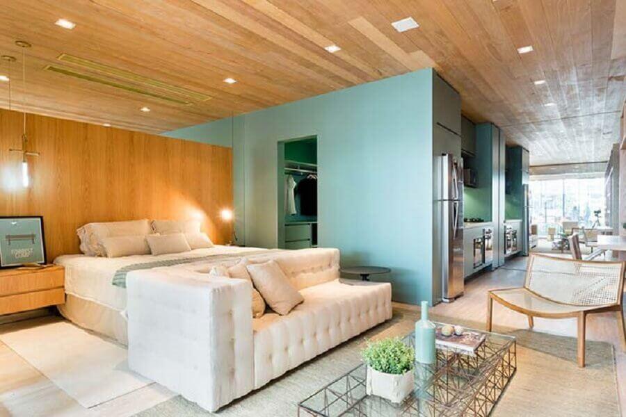 apartamento decorado com ambientes integrados Foto Pinterest