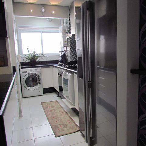 apartamento decorado cozinha com lavanderia jacqueline fumagalli 5429