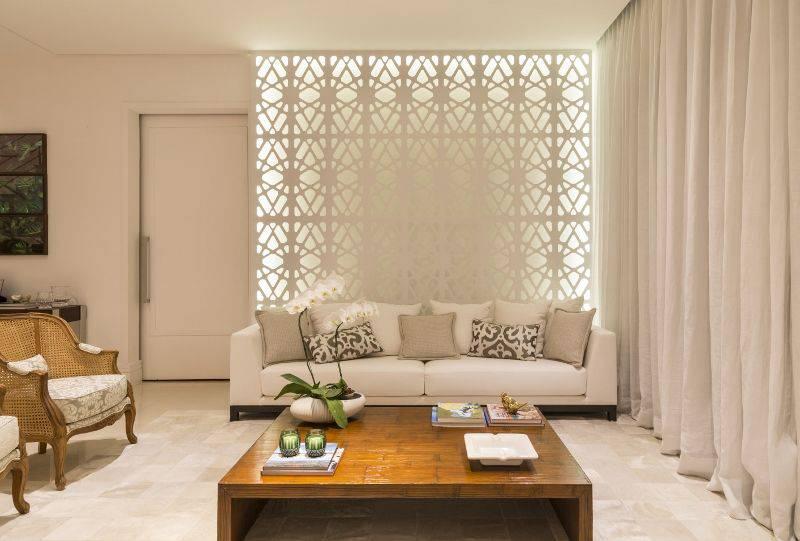 apartamento decorado sala de estar com mesa de centro studio deux 150975