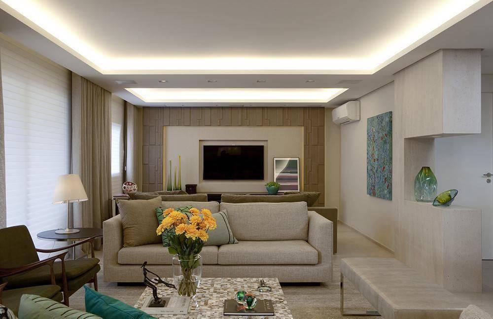 apartamento decorado sala de estar dupla cristina barbara 24292