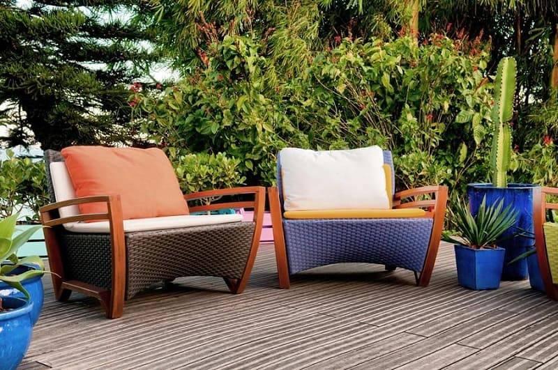 moveis para jardim cadeiras coloridas allume arquitetura de iluminacao 101006