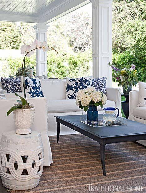 moveis para jardim com sofa e mesa de centro