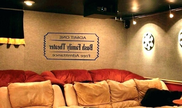 Decore de forma especial o cinema em casa