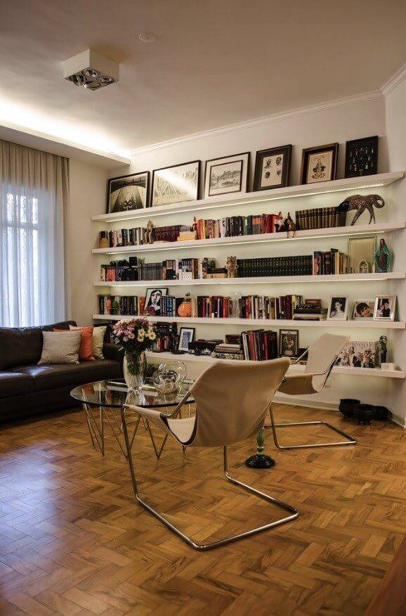 reforma de apartamento decada de 60 mesa redonda
