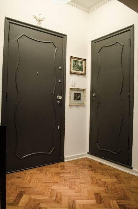 reforma de apartamento decada de 60 porta
