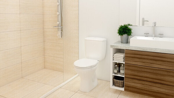 revestimento para banheiro de mármore