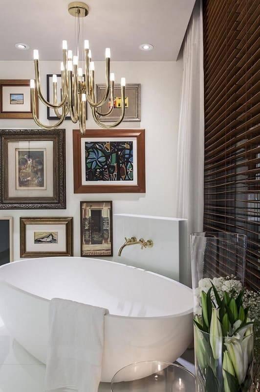 revestimento para banheiro elegante tinta e quadros manarelli guimaraes 23180