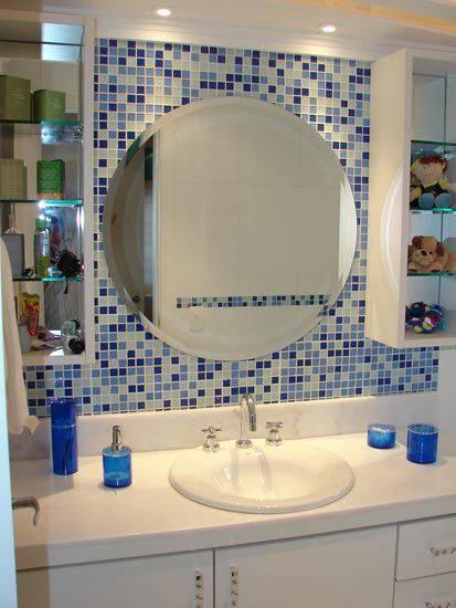 revestimento para banheiro pastilha adesiva espelho