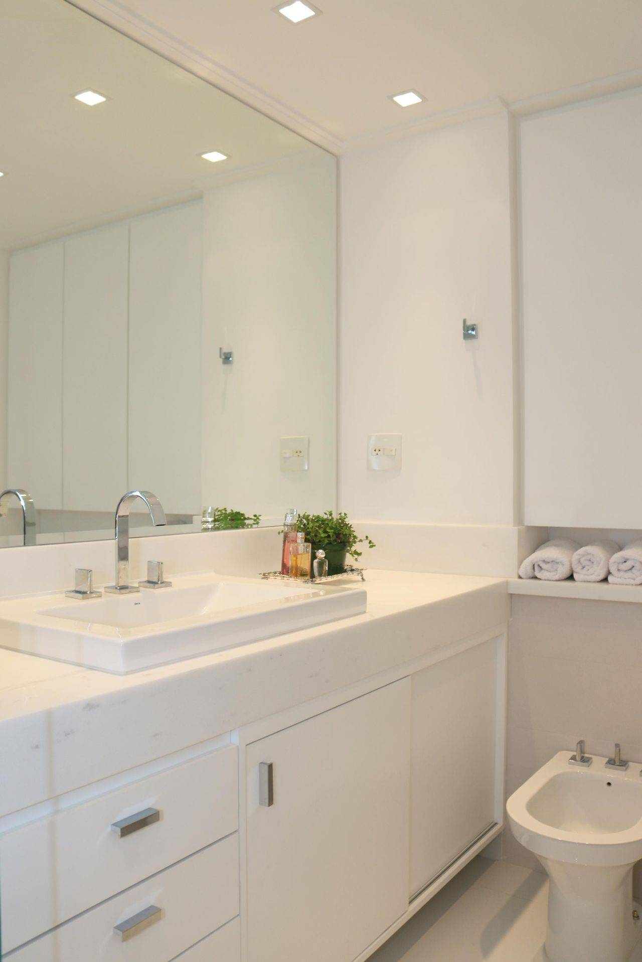revestimento para banheiro tinta branca ark2 arquitetura 1420