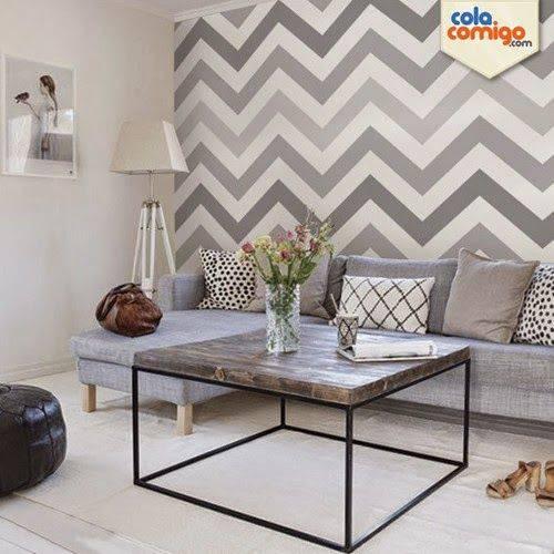 Tecido para parede 56 ambientes incr veis e dicas para for Cores para sala de estar 2017