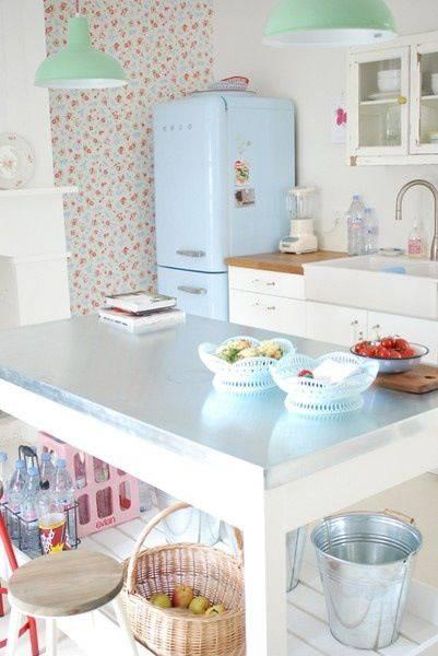 tons pasteis cozinha retro