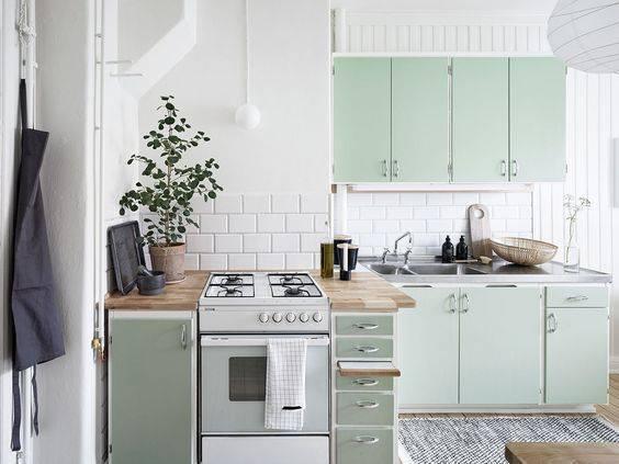 tons pasteis cozinha verde clara