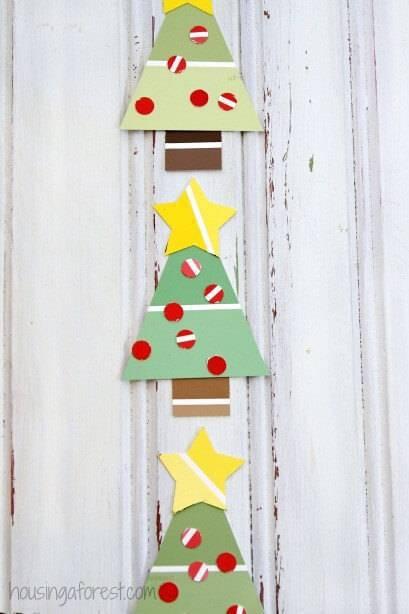 Artesanato de Natal arvore Tree-Craft