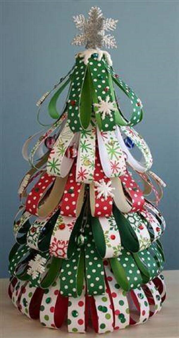 Artesanato de Natal arvore artesanal christmas-tree-crafts