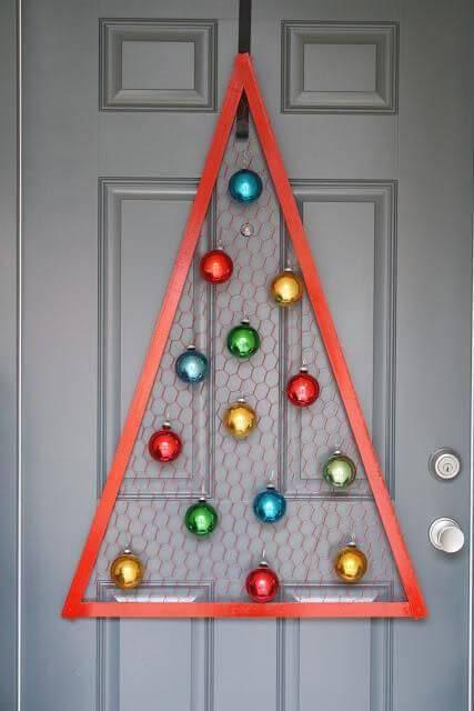 Artesanato de Natal arvore artesanal diy-christmas-crafts