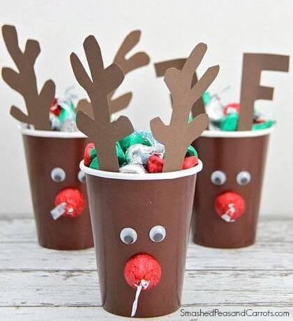 Artesanato de Natal cup-crafts-gift
