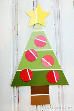 Artesanato de Natal easy-christmas-crafts preschoolers