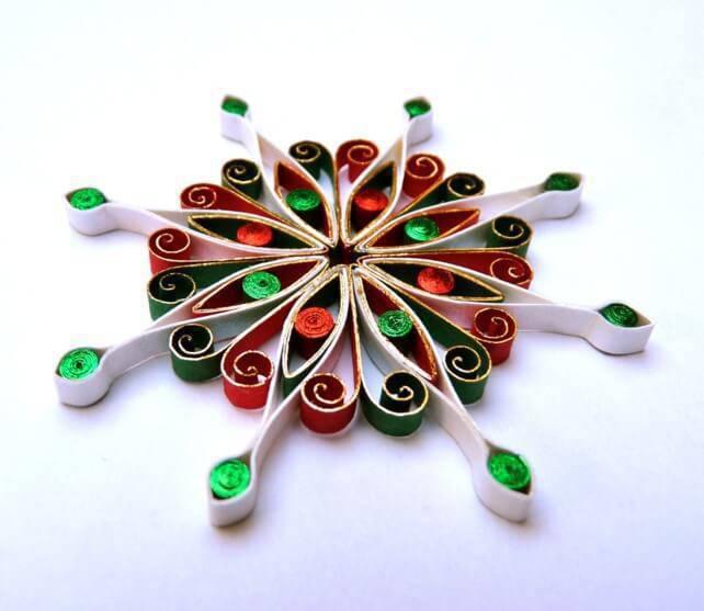 Artesanato de Natal mandala de natal