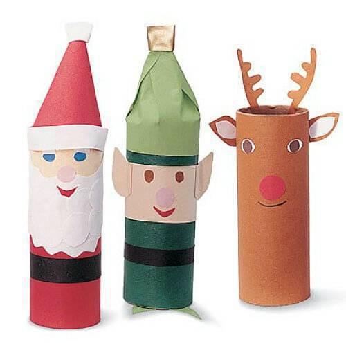 Artesanato de Natal papel easy-paper-