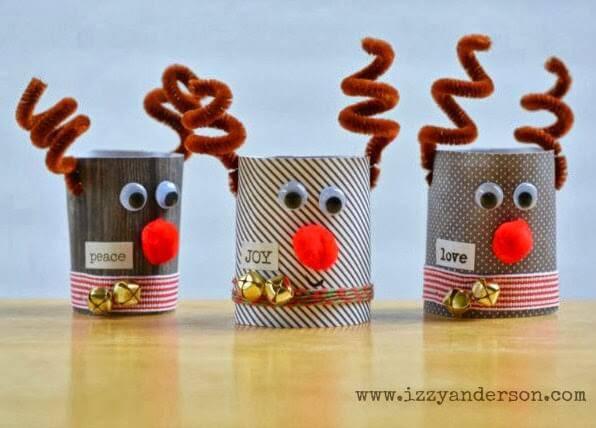Artesanato de Natal reindeer