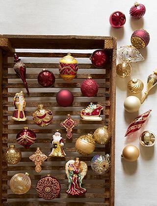 Como Enfeitar Árvore de Natal enfeites e bolas