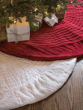 Como Enfeitar Árvore de Natal tapetes