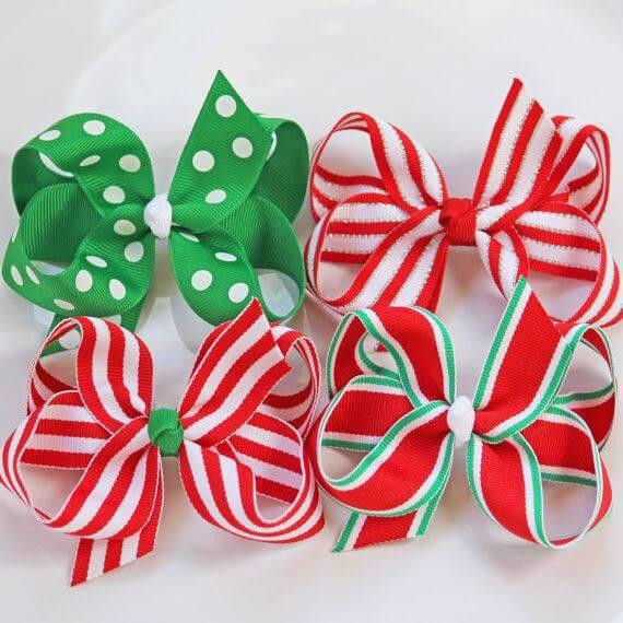 Como Fazer Laço de Natal christmas-holidays