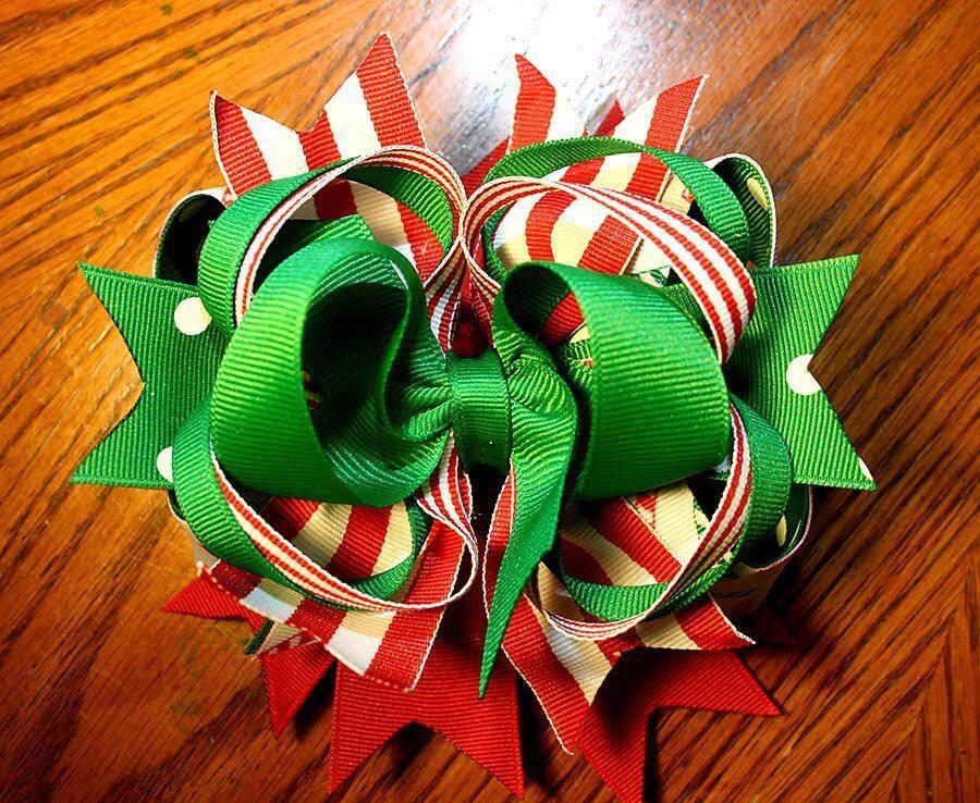 Como Fazer Laço de Natal maxres